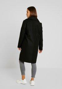 Noisy May Petite - CLAUDIA PETITE - Classic coat - black - 2