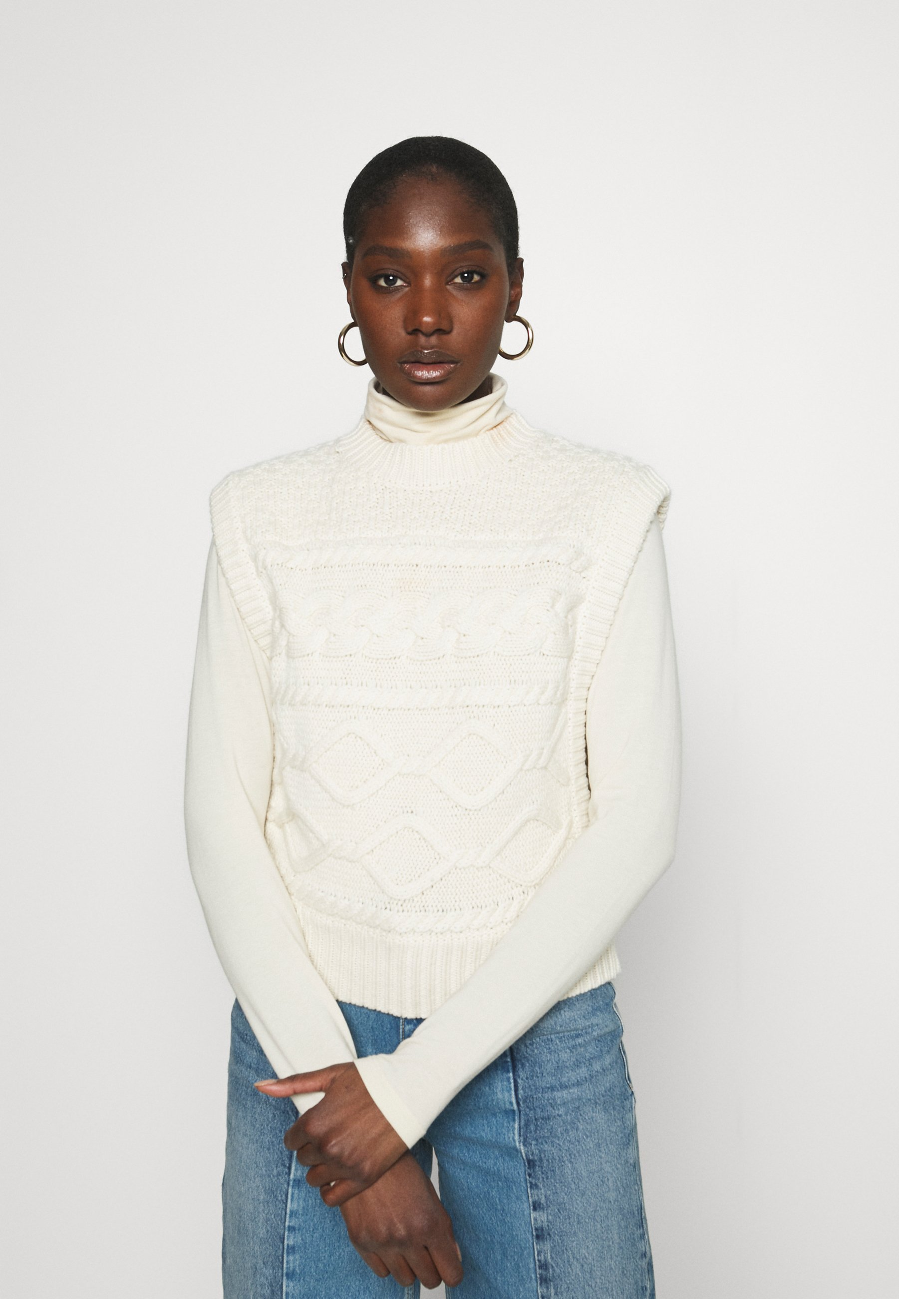 Femme LUPIA WAISTCOAT - Pullover