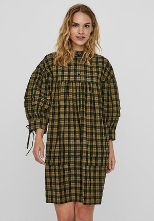 Shirt dress - ivy green
