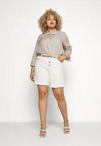 Persona by Marina Rinaldi - FISICA - Button-down blouse - beige freddo - 1