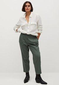 Violeta by Mango - NEWPEPI - Trousers - khaki - 1