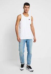 Nike Sportswear - CLUB TANK - Top - white/black - 1