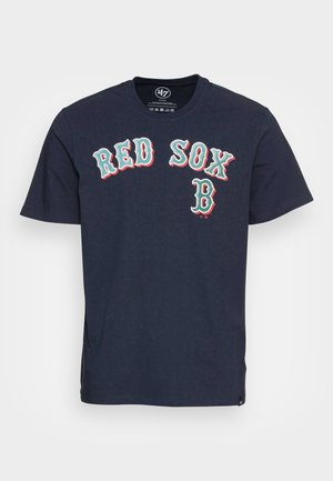 BOSTON RED SOX PUFFED ECHO TEE - Print T-shirt - fall navy