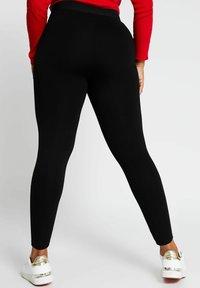 River Island Plus - Leggings - Trousers - black - 2