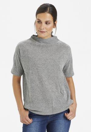 KARENEE SWEAT SHRIT SS - Sweatshirt - light grey melange