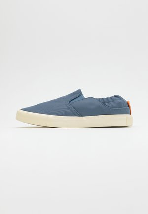 ALEXANDER - Mocassins - steele blue/offwhite