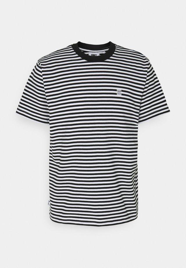 ICON FACE TEE - Print T-shirt - black/multi