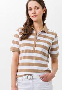 BRAX - STYLE CLEO - Polo shirt - sand - 0