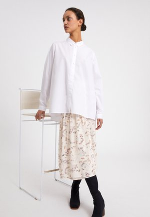 BLANCAA - Button-down blouse - white