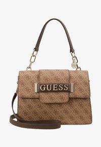 Guess - KERRIGAN  - Handtasche - brown - 5