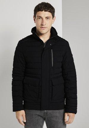 GESTEPPTE - Winter jacket - black