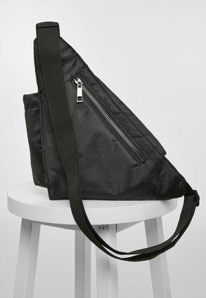 ACCESSOIRES SHOULDERBAG WITH CAN HOLDER - Across body bag - black