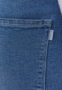 Bershka - Denim shorts - blue denim - 5