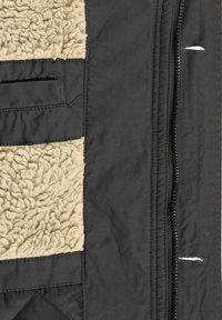Solid - WINTERJACKE CLARKI TEDDY - Winter coat - dark grey - 6