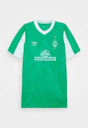 WERDER BREMEN HOME UNISEX - Vereinsmannschaften - golf green/brilliant white