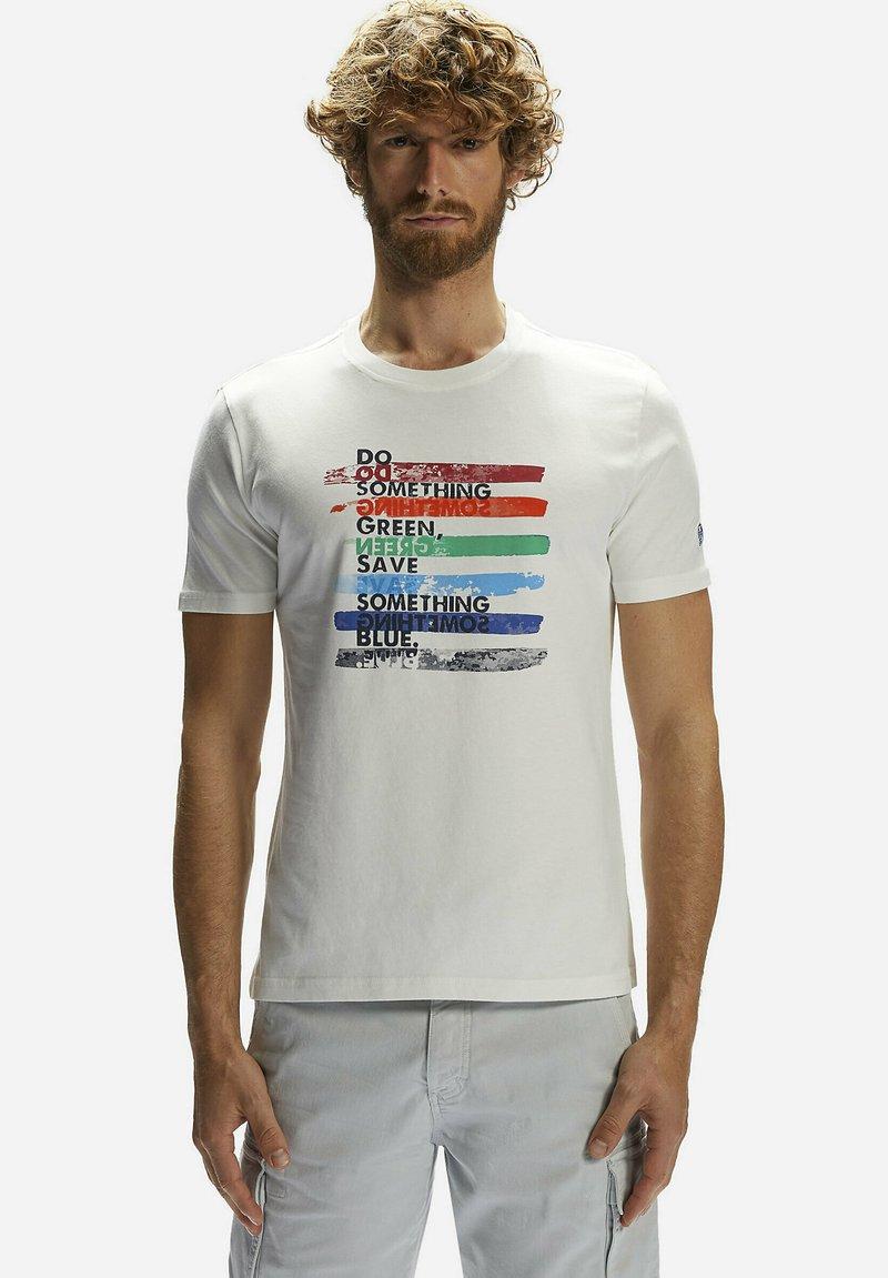 North Sails - T-shirt imprimé - white