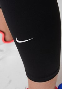 Nike Performance - ONE CROP - Tights - black/white