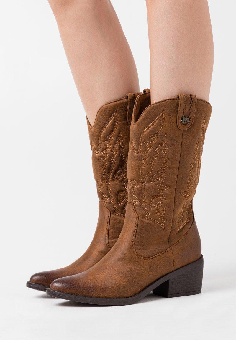 mtng - TANUBIS - Cowboy/Biker boots - brown