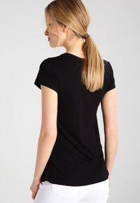 Kaffe - ANNA - Basic T-shirt - black deep - 2