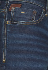 TOM TAILOR - JOSH - Denim shorts - dark stone wash denim - 2