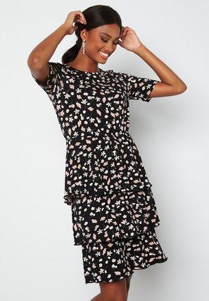 PETRA FLOUNCE  - Day dress - black