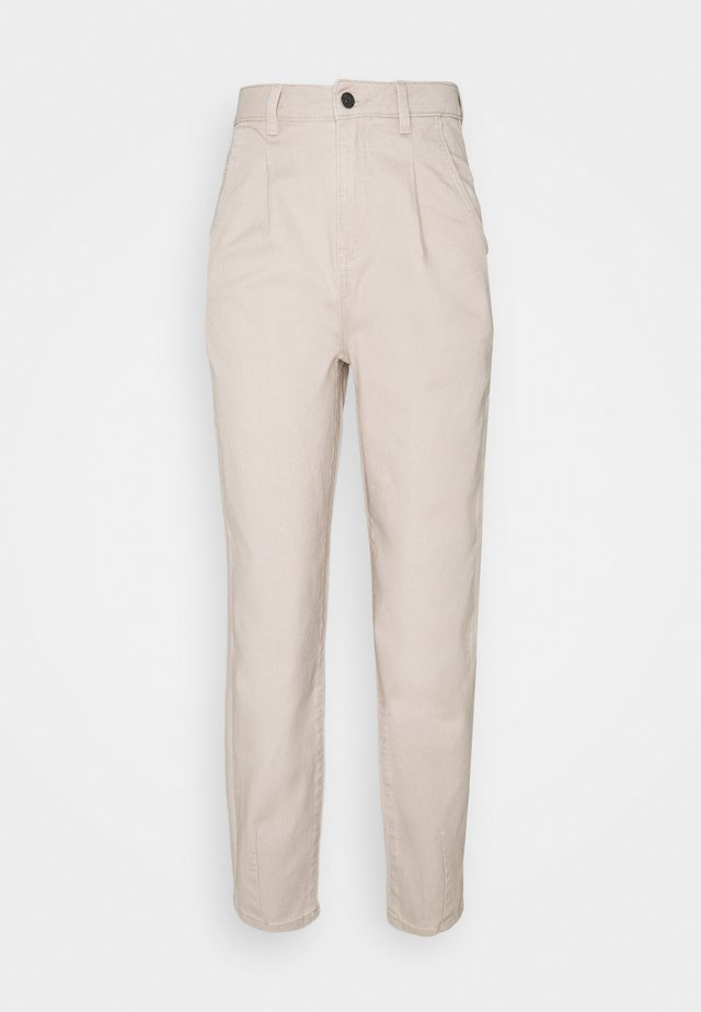 OBJROXANE ANKLE - Relaxed fit jeans - silver gray