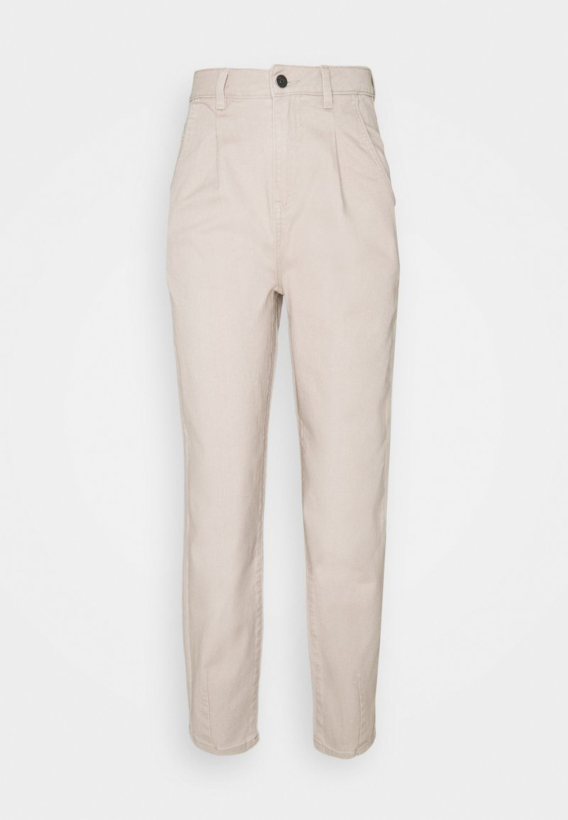 Object Tall - OBJROXANE ANKLE - Relaxed fit jeans - silver gray