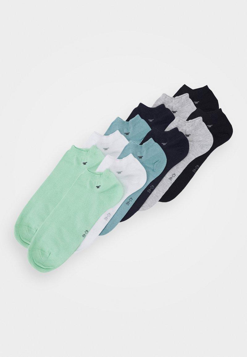 TOM TAILOR - SNEAKER UNI BASIC  12 PACK - Socks - dark blue