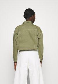 ALIGNE - CATRINA - Denim jacket - khaki - 2