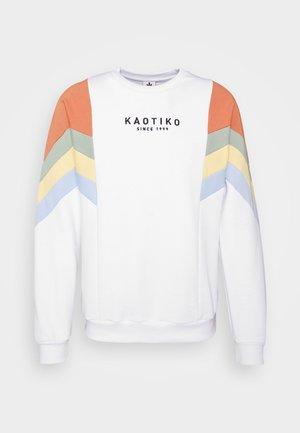 CREW SEATTLE BLANCO - Sweatshirt - white
