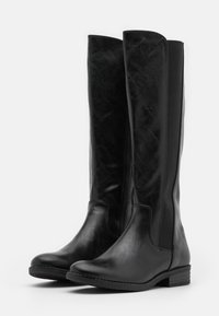 Marco Tozzi - Vysoká obuv - black antic - 2
