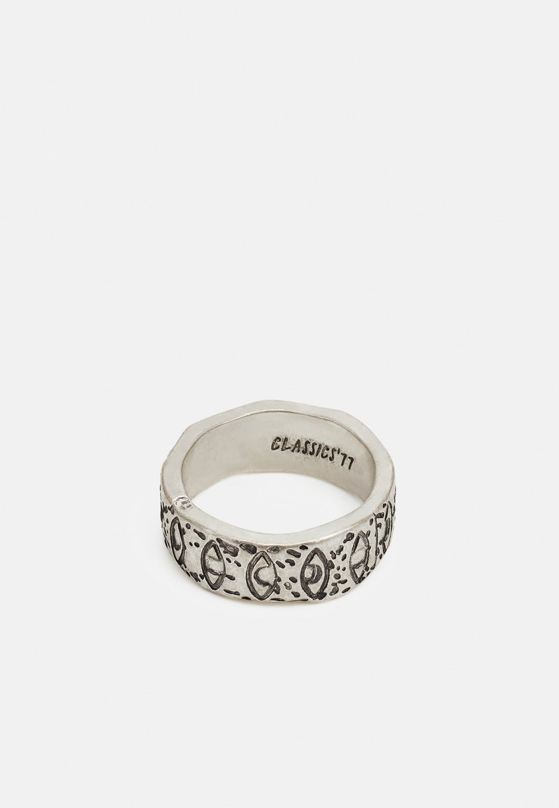 Classics77 - EXPRESSIVE EYE BAND RING - Prsten - silver-coloured