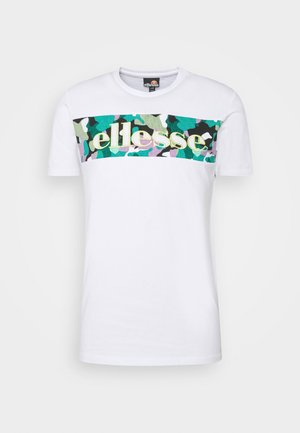 MORELA - Print T-shirt - white