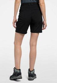 Haglöfs - MID SOLID SHORTS - Outdoor shorts - true black - 1