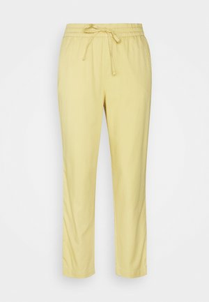 EASY PANT SOLID - Tygbyxor - faded yellow