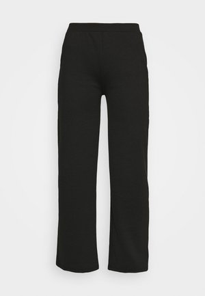 ONLFEVER WIDE PANTS - Verryttelyhousut - black