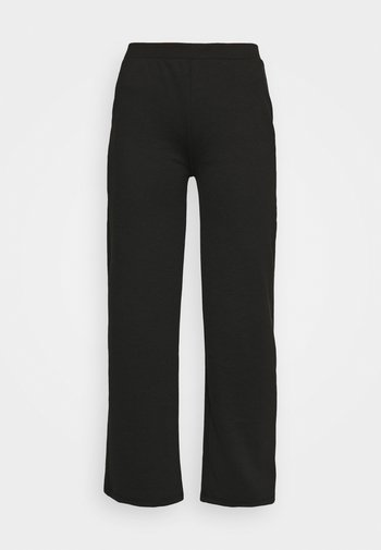 ONLFEVER WIDE PANTS - Tracksuit bottoms - black