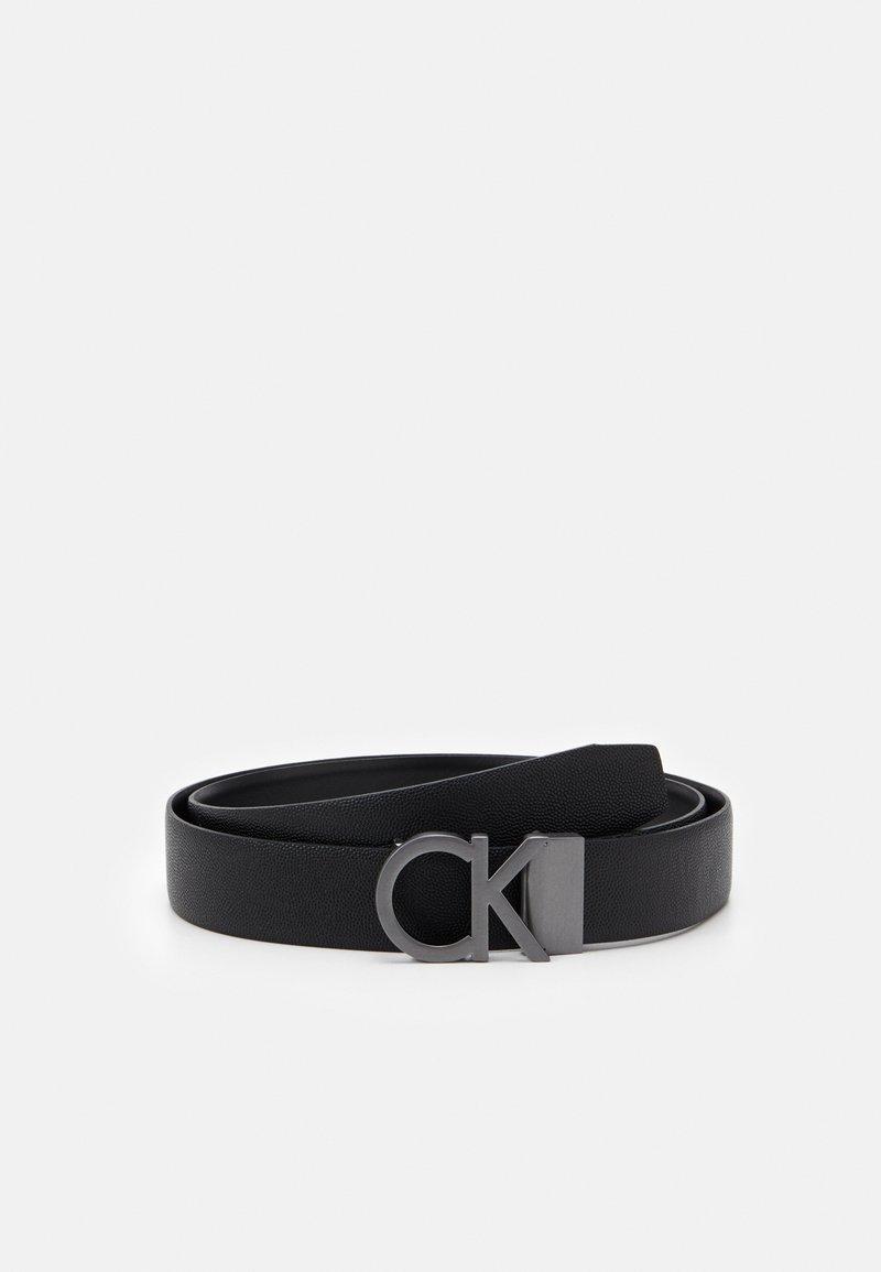 Calvin Klein - BUCKLE SET - Belt - black
