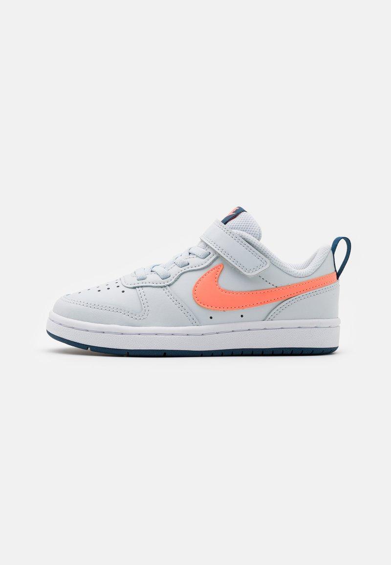 Nike Sportswear - COURT BOROUGH - Trainers - pure platinum/atomic pink/valerian blue/white