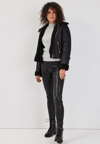 Cache Cache - ZWANGS SPIRIT - Leather jacket - noir - 1