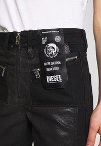 Diesel - DE-EARLIE TROUSERS - Trousers - black - 4