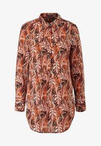 comma - LONG - Button-down blouse - black paisley - 6