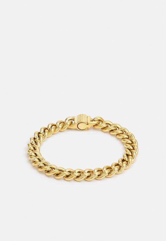 CURB ROUND UNISEX - Náramek - gold-coloured