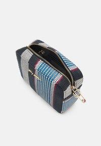 Tommy Hilfiger - ICONIC CAMERA BAG STRIPES - Handbag - blue - 2