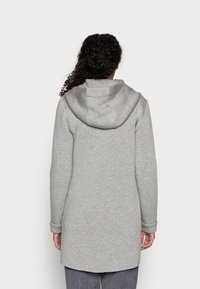 ONLY Petite - ONLLENA HOOD COAT PETIT  - Zip-up hoodie - light grey melange - 2