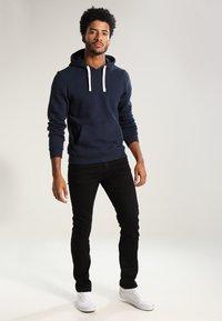 YOURTURN - Straight leg jeans - black denim - 1