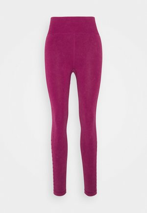 LIFESTYLE SEAMLESS 7/8 YOGA  - Leggings - boysenberry wash