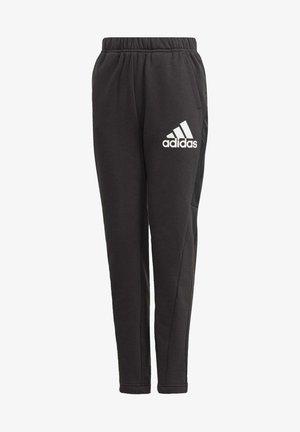 BADGE OF SPORT FLEECE ATHLETICS REGULAR PANTS - Spodnie treningowe - black