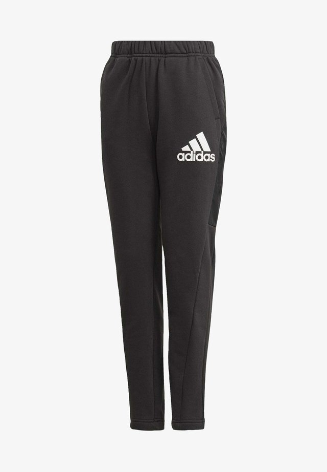 BADGE OF SPORT FLEECE ATHLETICS REGULAR PANTS - Tracksuit bottoms - black