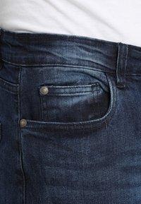 Brave Soul - SARNEN - Jeans Skinny Fit - dark blue - 4